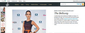 MSN Glo quotes stylist Alexandra Greenawalt